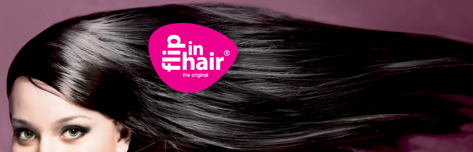 Flip-in hairextensions